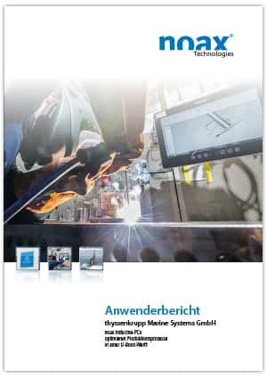 Industrie Touch Panel - Industrie Panel-PC noax Thyssenkrupp